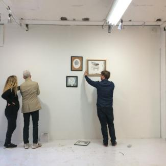 Taaffe Gallery (photo by Melissa Grey)